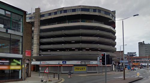 Sky Plaza Hotel on top of Abbey Street Car Park (Leicester, United Kingdom)