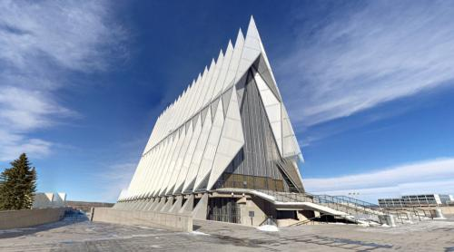 United States Air Force Academy Cadet Chapel (Colorado Springs, United States)