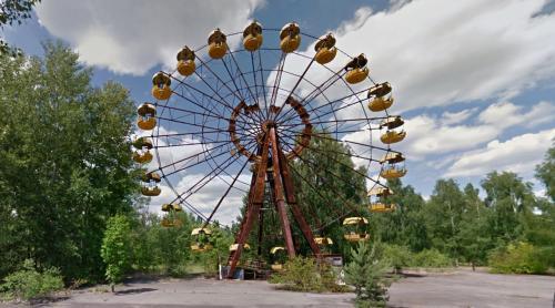 Pripyat amusement park (Pripyat, Ukraine)