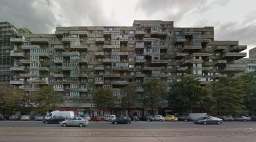 Pantelimon housing block (Bucharest, Romania)