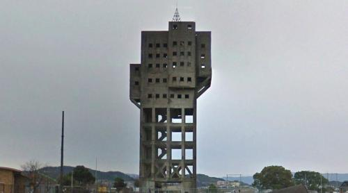 Winding Tower of the Shime coal mine (Shime, Japan)