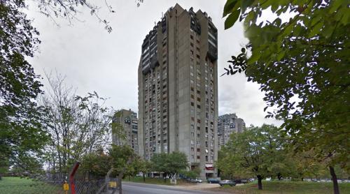 Banjica skyscrapers (Belgrade, Serbia)