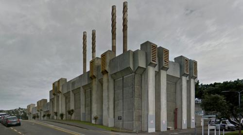 Wellington Hospital Incinerator (Wellington, New Zealand)