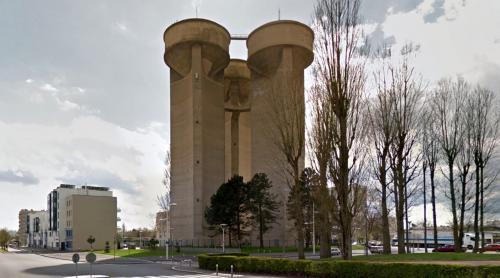 Château d'eau du Châtelet (Rouen, France)