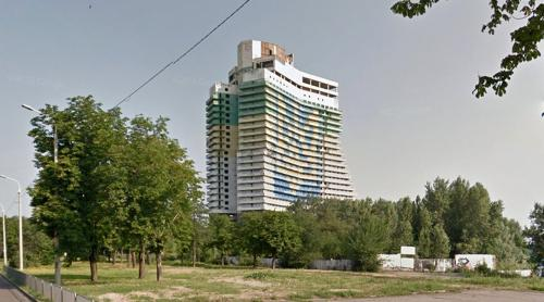 Unfinished Parus Hotel (Dnipro, Ukraine)