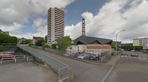 Le Belvédère & Église Saint-Martin de Tours (Rennes, France)