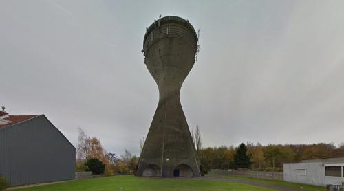 Mont-sur-Marchienne water tower (Mont-sur-Marchienne, Belgium)