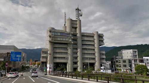 Yamanashi Press and Broadcasting Center (Kōfu, Japan)