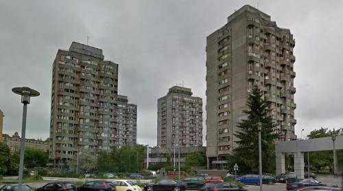 Sedesowce, Plac Grunwaldzki (Wroclaw, Poland)