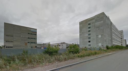Mixed-use buildings (Omsk, Russia)