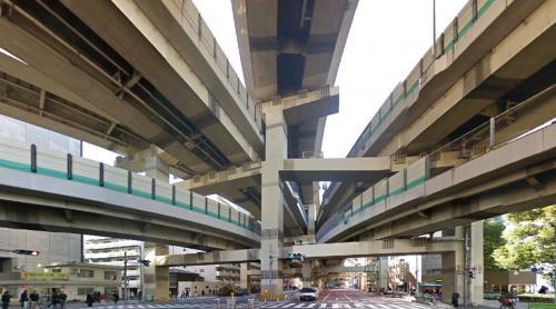 Hakozaki Junction (Tokyo, Japan)