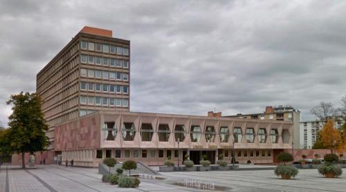 Maubeuge City Hall & Regional Court (Maubeuge, France)