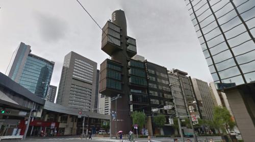 Shizuoka Press and Broadcasting Tower (Tokyo, Japan)