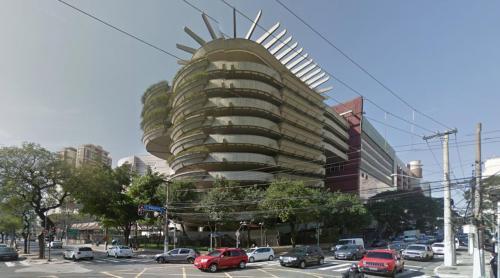 Bourbon Shopping car park (Sao Paulo, Brazil)